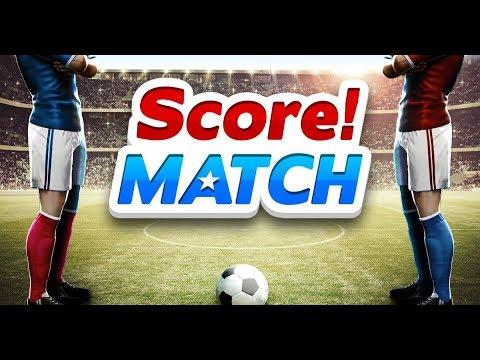 اسرار لعبة score match شرح|تحميل لعبة سكور ماتش للايفون والاندرويد