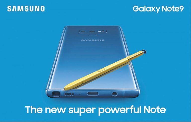 سامسونج جالكسي نوت9 -SamsungGalaxy Note9