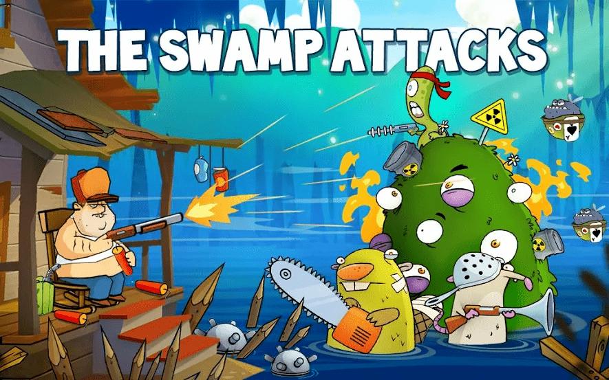 العاب حرب بدون انترنت swamp attacks