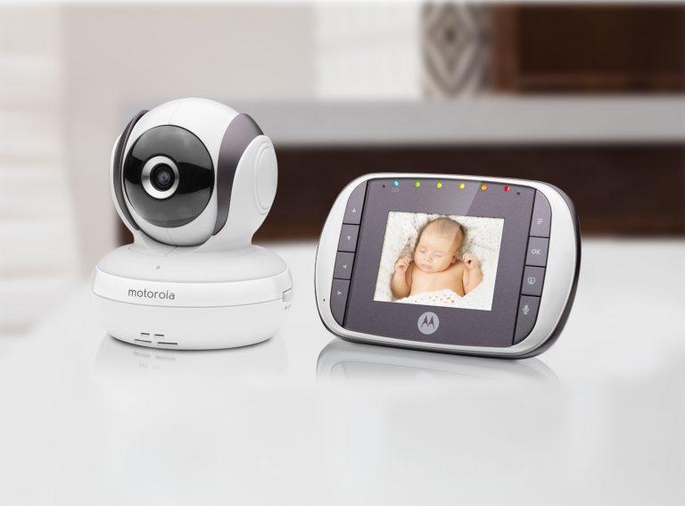 سعر وانواع جهاز مراقبة الطفل موتورولا بالكاميرا عن بعد Motorola baby monitor