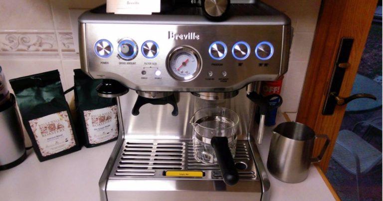 سعر ماكينة بريفيل 870 للقهوة Breville Barista Express BES870XL امازون، ساكو
