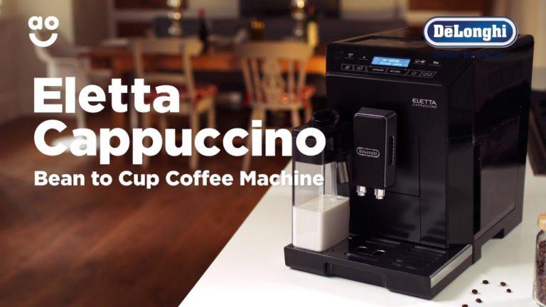سعر ماكينة قهوة ديلونجي اليتا كابتشينو ecam 44.660.b ومواصفات وعيوب