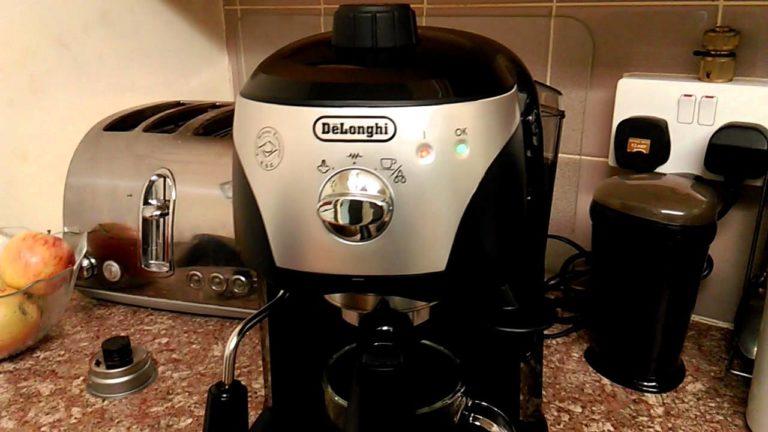 ماكينة قهوة ديلونجي ec221 سعر ومواصفات وعيوب