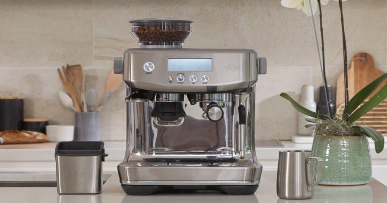 سعر مكينة سيج باريستا برو امازون البريطاني آلة قهوة اسبريسو وعيوبها ومميزاتها