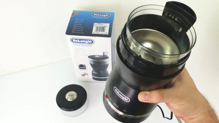 مطحنة قهوة ديلونجي kg49 سعر ومواصفات وعيوب De'Longhi Grinder