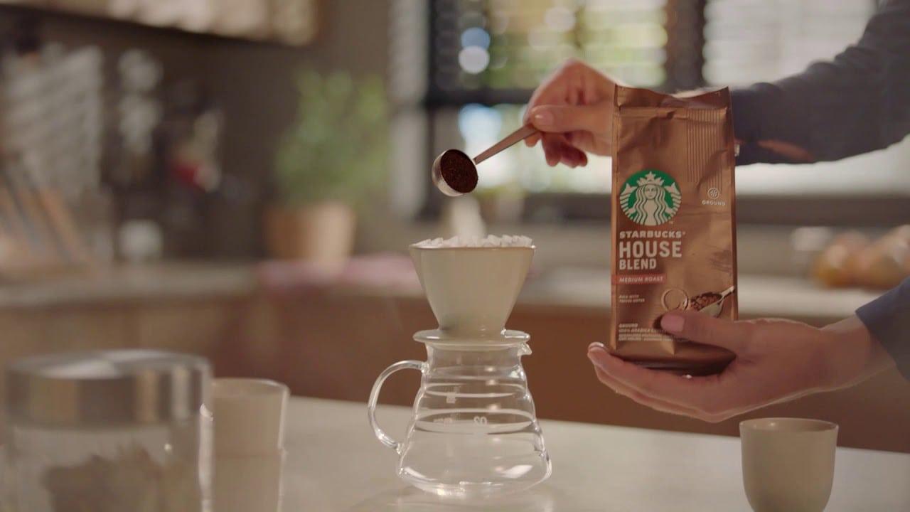 قهوة ستاربكس المطحونة