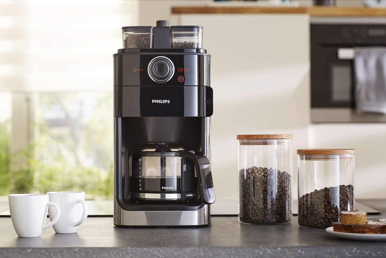 ماكينة قهوة فيليبس hd7762, تقطير