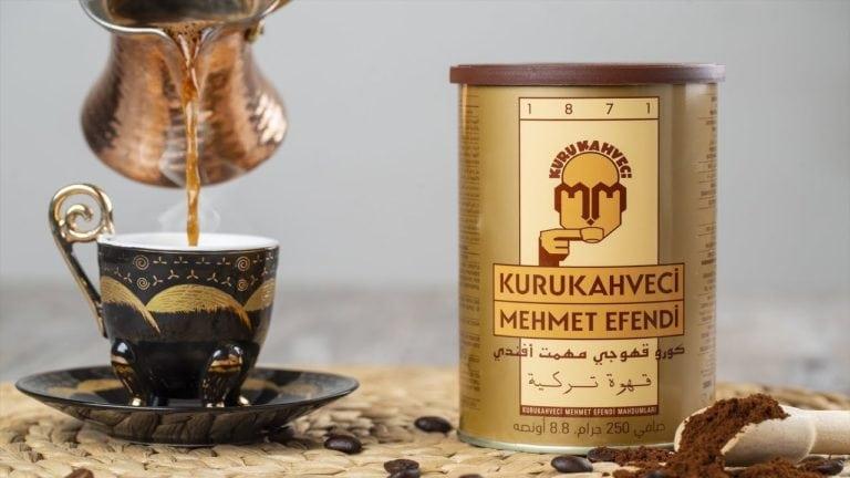 سعر انواع قهوة محمد افندي التركية والفرق بين الاصلي والتقليد وطريقة التحضير