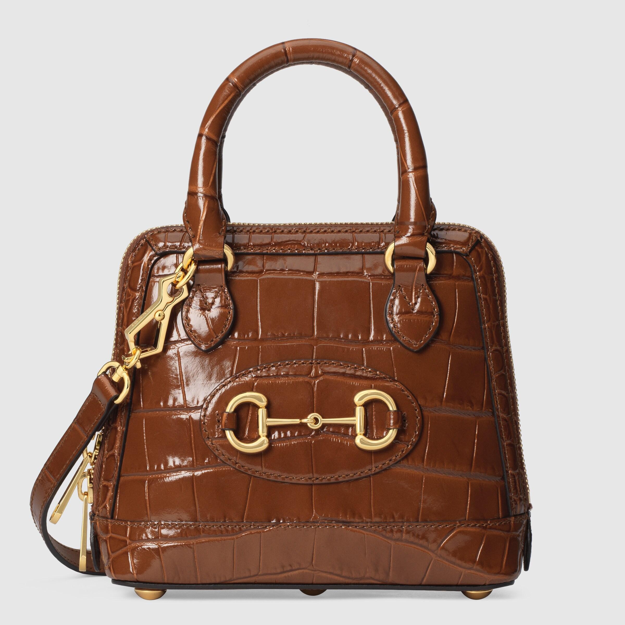 حقائب يد من الجلد النادر للنساء